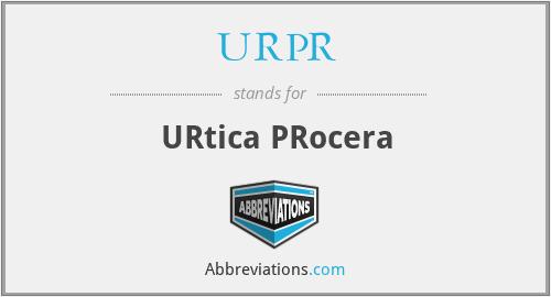 URPR - URtica PRocera