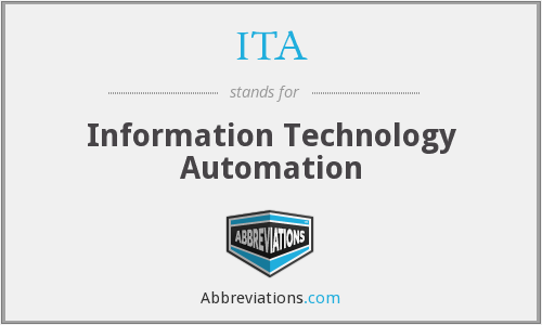 ITA - Information Technology Automation