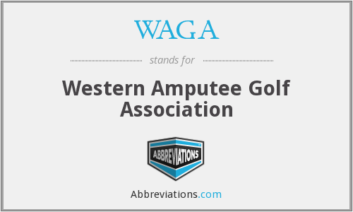 WAGA - Western Amputee Golf Association