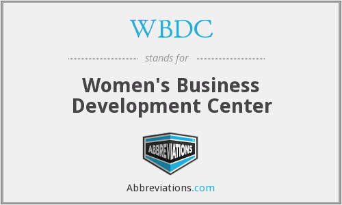 WBDC - Women's Business Development Center