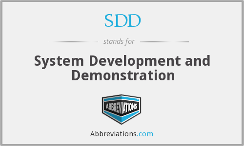 What does demonstration stand for?