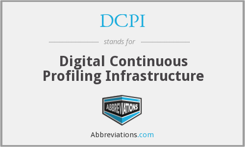 What does DCPI stand for?