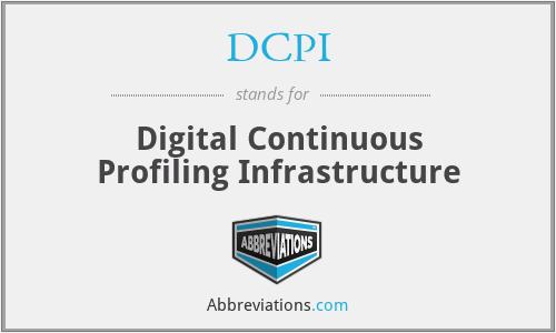 DCPI - Digital Continuous Profiling Infrastructure