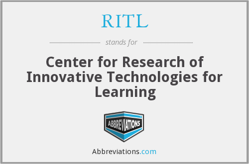 RITL - Center for Research of Innovative Technologies for Learning