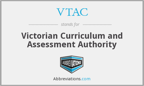 VTAC - Victorian Curriculum and Assessment Authority