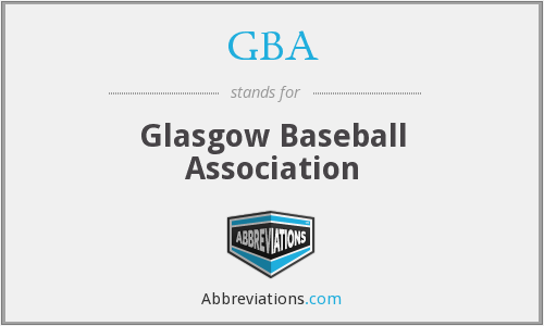 GBA - Glasgow Baseball Association