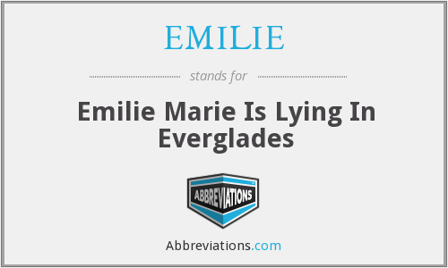 What does EMILIE stand for?