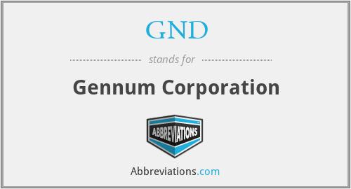 GND - Gennum Corporation
