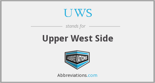 What does UWS stand for?