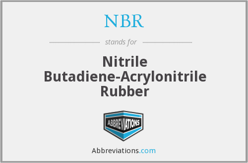 NBR - Nitrile Butadiene-Acrylonitrile Rubber