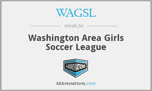 WAGSL - Washington Area Girls Soccer League