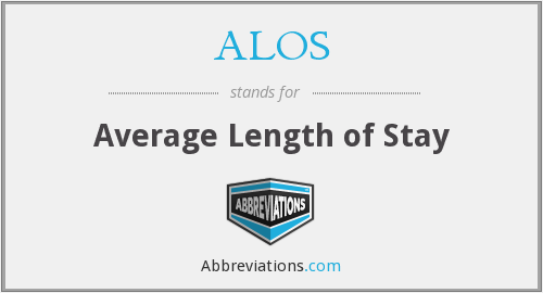 What does ALOS stand for?