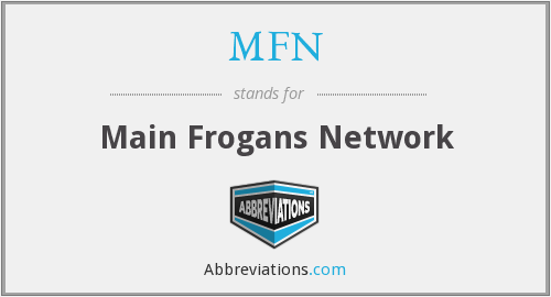 MFN - Main Frogans Network