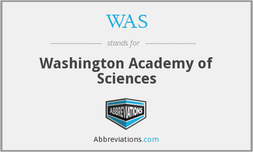 WAS - Washington Academy of Sciences