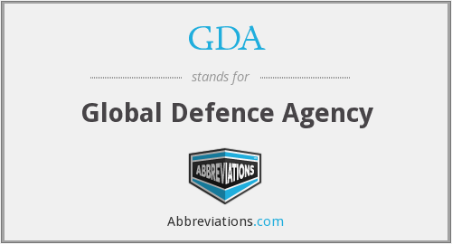 GDA - Global Defence Agency