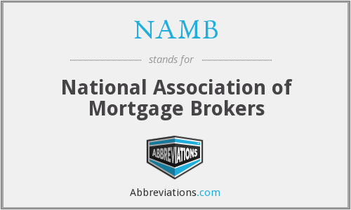 NAMB - National Association of Mortgage Brokers
