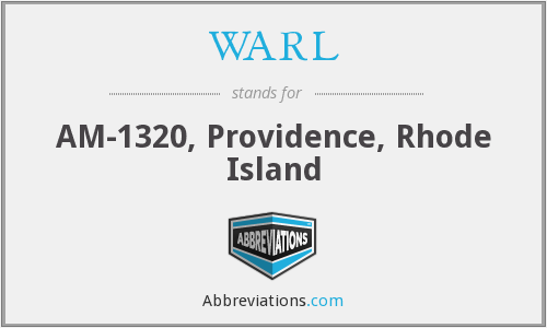 What does WARL stand for?