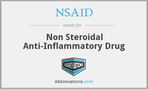 What does NSAID stand for?