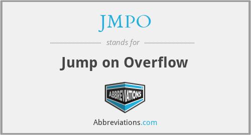JMPO - Jump on Overflow