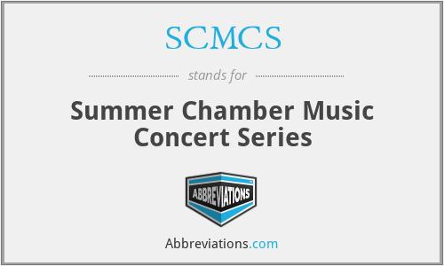 SCMCS - Summer Chamber Music Concert Series