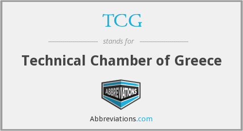 TCG - Technical Chamber of Greece