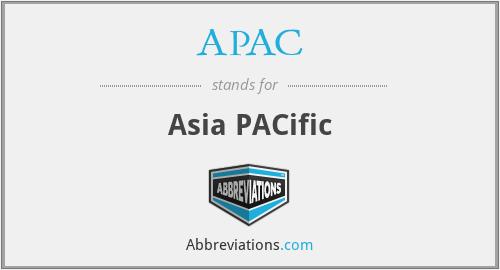 APAC - Asia PACific