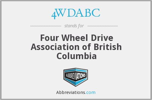 4WDABC - Four Wheel Drive Association of British Columbia