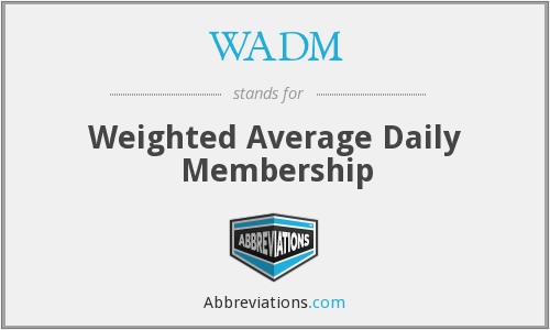 What does WADM stand for?