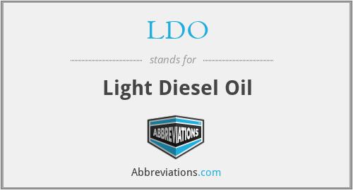 LDO - Light Diesel Oil