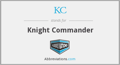 KC - Knight Commander
