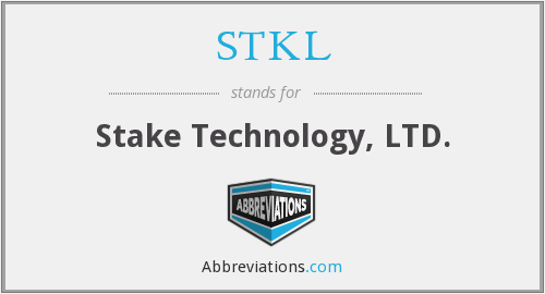 What does stake stand for?