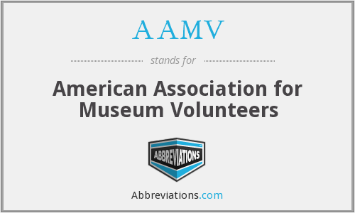 AAMV - American Association for Museum Volunteers