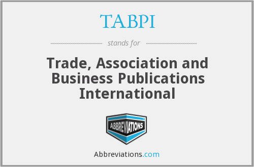 TABPI - Trade, Association and Business Publications International