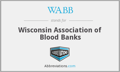 WABB - Wisconsin Association of Blood Banks