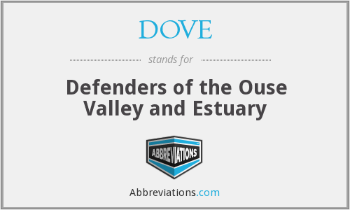DOVE - Defenders of the Ouse Valley and Estuary