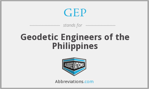 GEP - Geodetic Engineers of the Philippines
