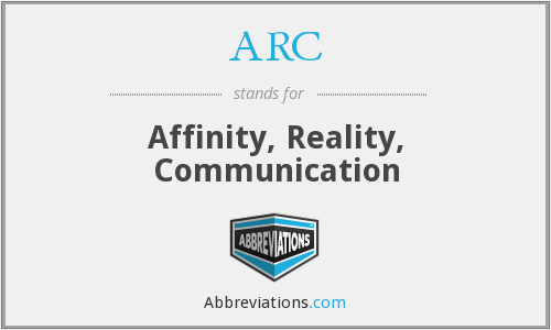 ARC - Affinity, Reality, Communication
