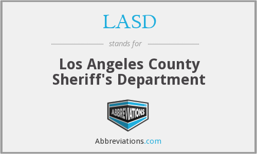 What does LASD stand for?