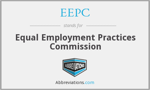 EEPC - Equal Employment Practices Commission
