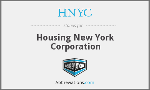 HNYC - Housing New York Corporation