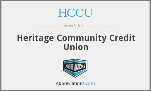 What does HCCU stand for?