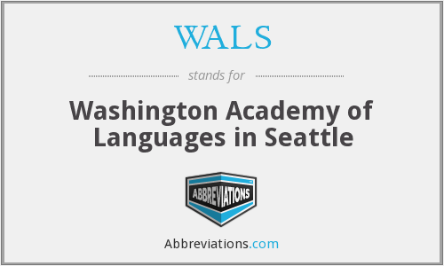 WALS - Washington Academy of Languages in Seattle
