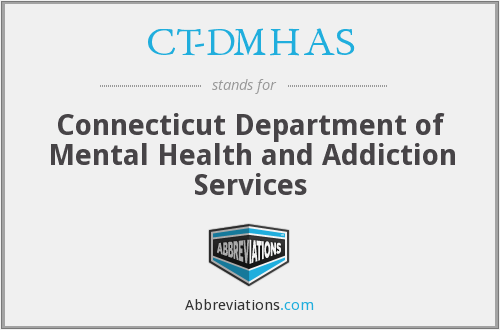 CT-DMHAS - Connecticut Department of Mental Health and Addiction Services
