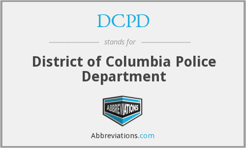 DCPD - District of Columbia Police Department