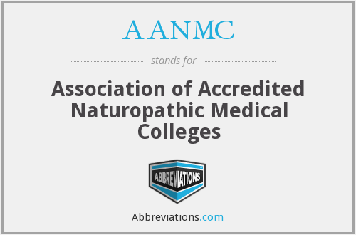 AANMC - Association of Accredited Naturopathic Medical Colleges