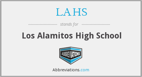 What does LAHS stand for?