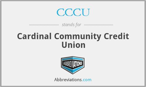 CCCU - Cardinal Community Credit Union