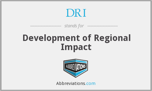 DRI - Development of Regional Impact