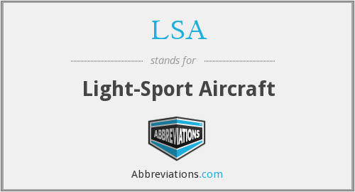 LSA - Light-Sport Aircraft