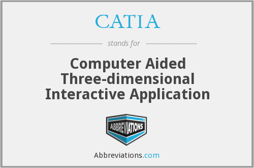 CATIA - Computer Aided Three-dimensional Interactive Application